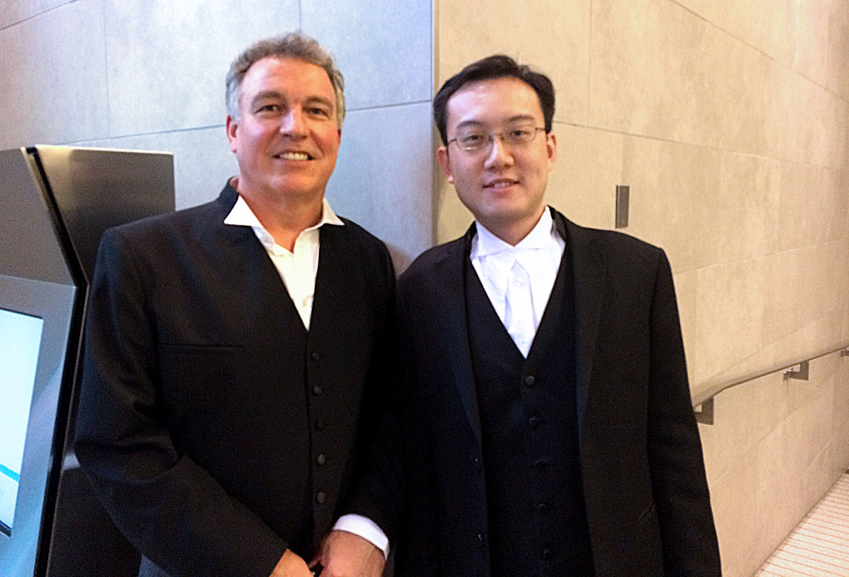 ELC lawyers Chris Tollefson and Anthony Ho Vancouver, BC / Coast Salish territory – Oct 5, 2015